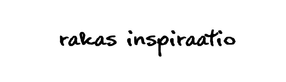 rakas inspiraatio